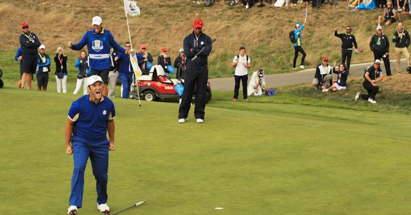 La experiencia de la Ryder Cup y el partido contra Tiger Woods