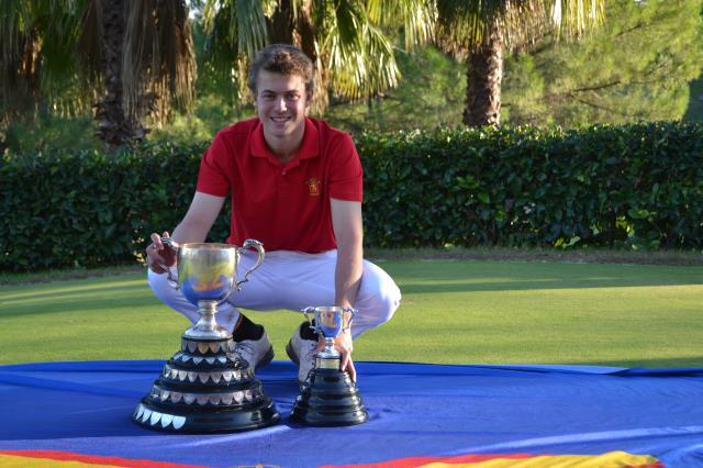 Eduard Rousaud Campeón de la Copa Puerta de Hierro