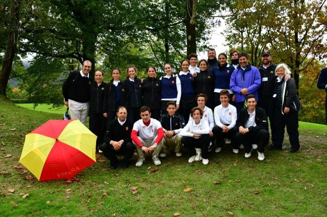 Victoria del equipo nacional en el Match Juvenil España-Francia 2018