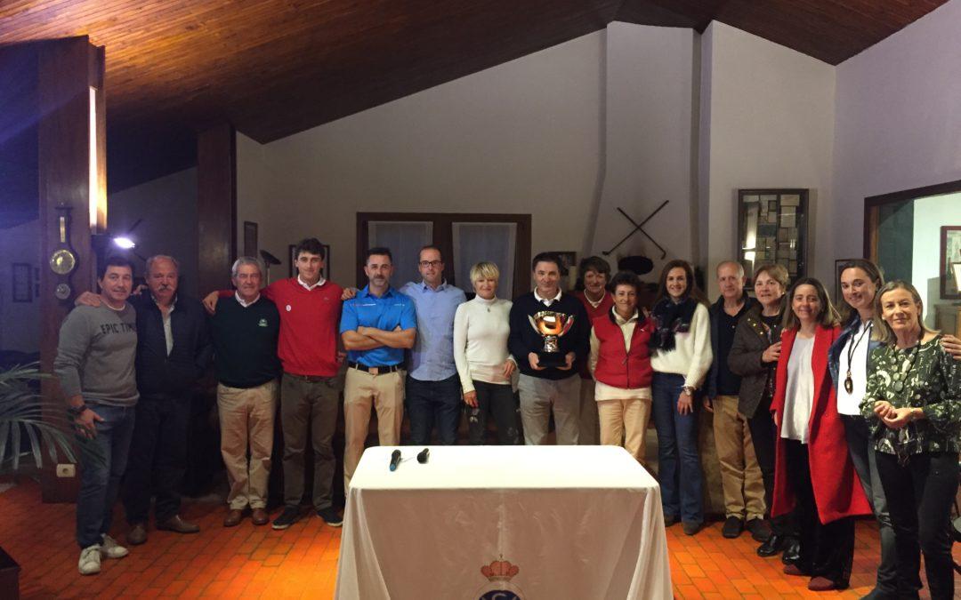 El equipo de la Federación Vasca ganador del Match contra la Federación Navarra