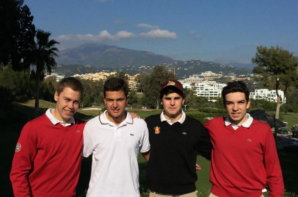 Seis jugadores vascos presentes en la Copa Andalucia Masculina