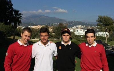 Borja Martin el mejor vasco en la Copa Andalucia Masculina