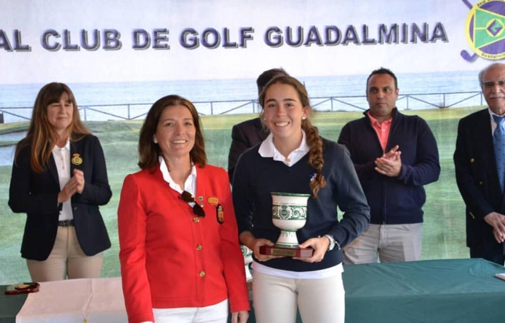 Nieves Martin Subcampeona de la Copa Andalucía Femenina 2019