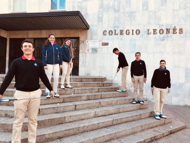 Escuela Blume de Golf de León: Trabajo y progreso continuo