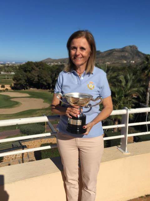 Lourdes Barbeito octava en el Campeonato de España Internacional Senior Femenino