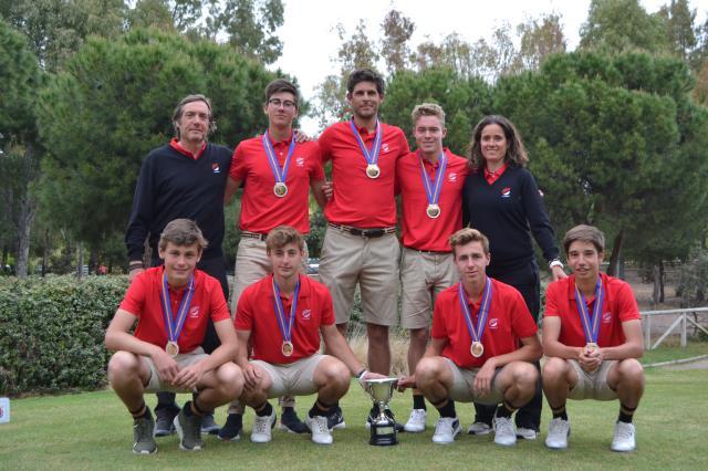Quinto puesto del equipo vasco en el Campeonato de España de Federaciones Autonomicas Sub-18 Masculino
