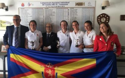 Natalia Aseguinolaza Campeona de España Sub-18 Femenino