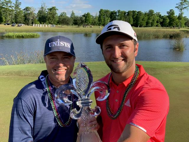Nuevo triunfo de Jon Rahm en el PGA Tour, esta vez junto a Ryan Palmer
