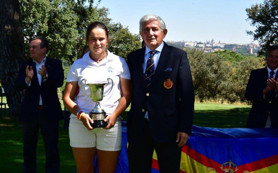 María Villanueva Campeona de España Amateur Femenina 2019 – «I Memorial Emma Villacieros»