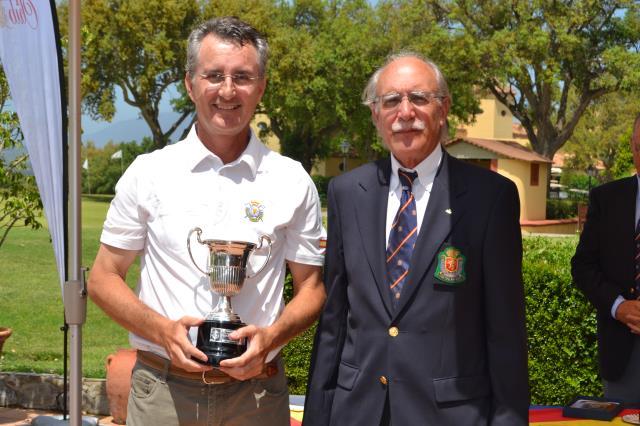 Cuarto puesto de Gonzalo Pardo en el Campeonatode España Senior Individual