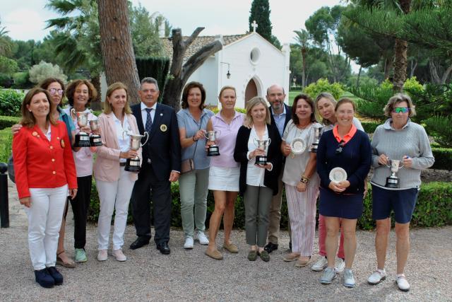 Lourdes Barbeito la mejor jugadora vasca en el Campeonato de España Senior Femenino