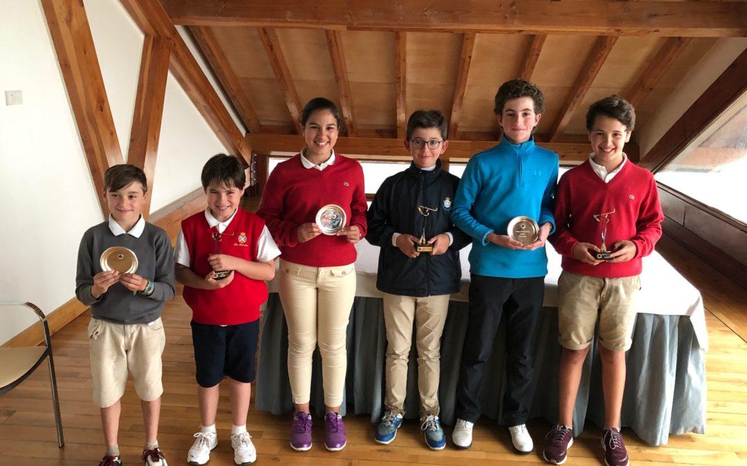Telmo Tames, Pedro Arrieta e Ibai Juanena – Campeones del País Vasco  P&P infantil, Alevín y Benjamín