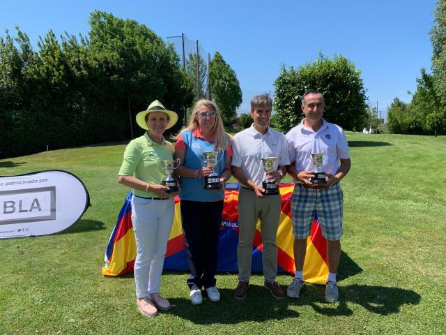 Amaya Chavarri cuarta en el Campeonato de España P&P Mid-Amateur
