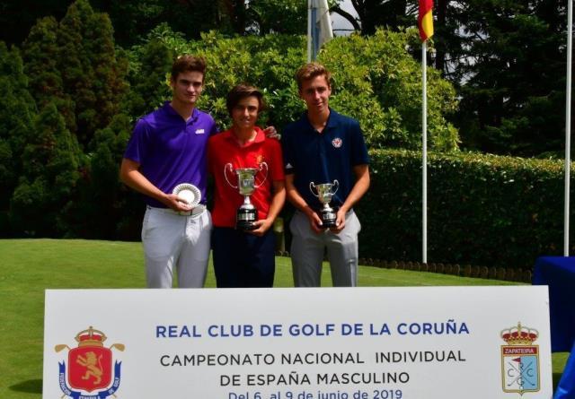 Gran cuarto puesto de Martin Larrea en el Campeonato de España Amateur Masculino