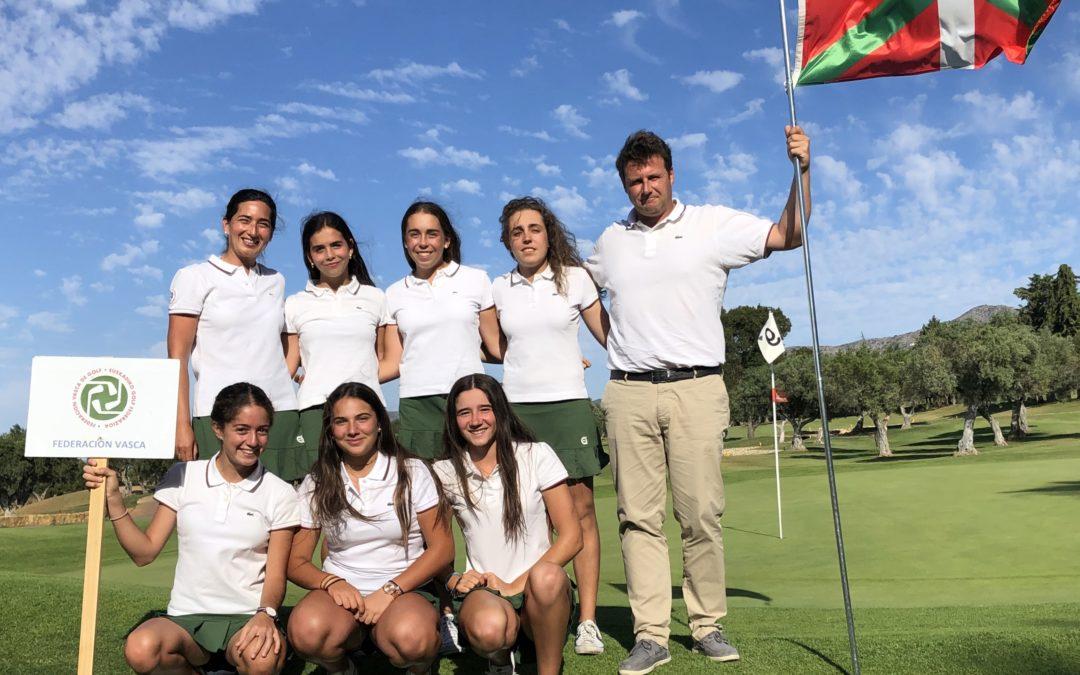 Inicio dubitativo del equipo vasco presente en el Campeonato de España de Federaciones Autonómicas Absoluto Femenino