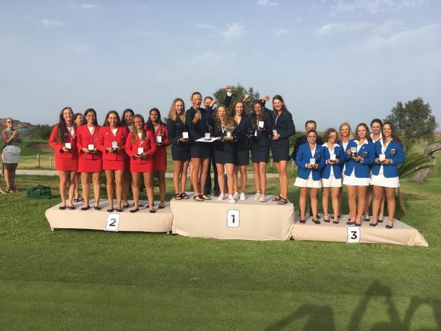 Nieves Martin, Natalia Aseguinolaza y María Villanueva medalla de plata en el Campeonato de Europa Sub-18 Femenino