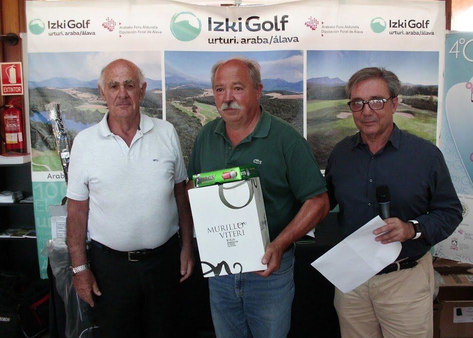 J.A. Arriaga, I. Merino y J.L. Gonzalez los mejores en el Puntuable Senior de Izki