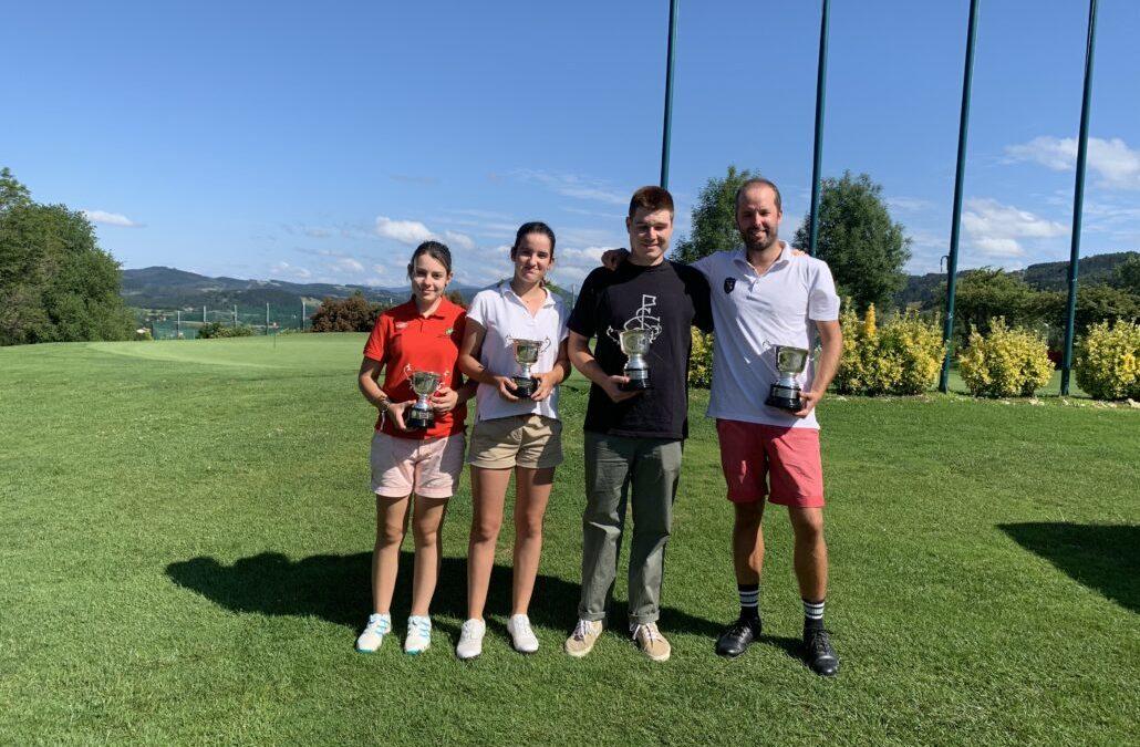 Gonzalo Arcelay y Amalia Amann Campeones de Bizkaia 2019