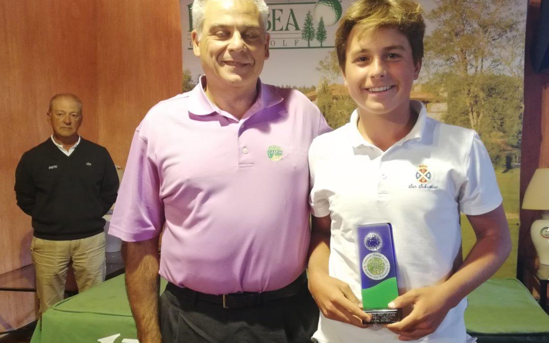 Fernandez/Lanchares (Infantiles), Martinez/Iraola (Alevines) y Dearden/Iraola (Benjamines)- Campeonato de Alava Infantil