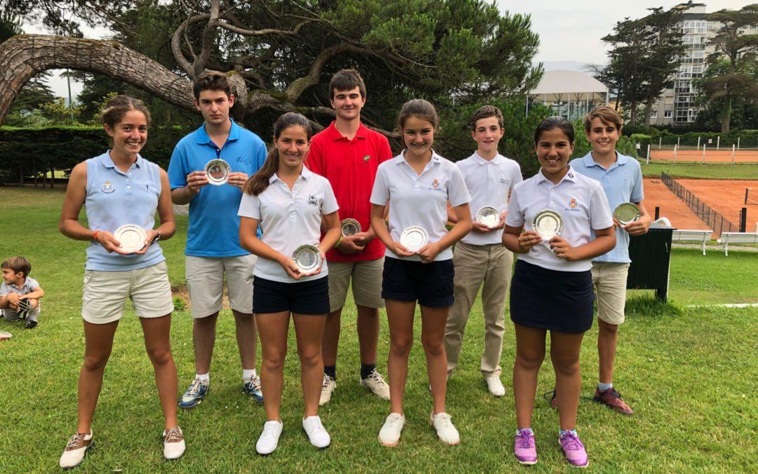 Gorostiaga/De los Rios (Cadetes) y Lanchares/Herrero (Infantiles) ganadores del I Puntuable Zonal Juvenil