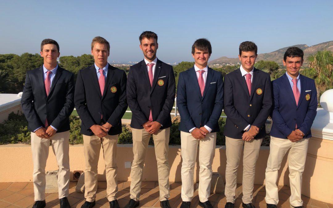 Octavo puesto del equipo vasco en el Campeonato de España por FFAA Absoluto Masculino