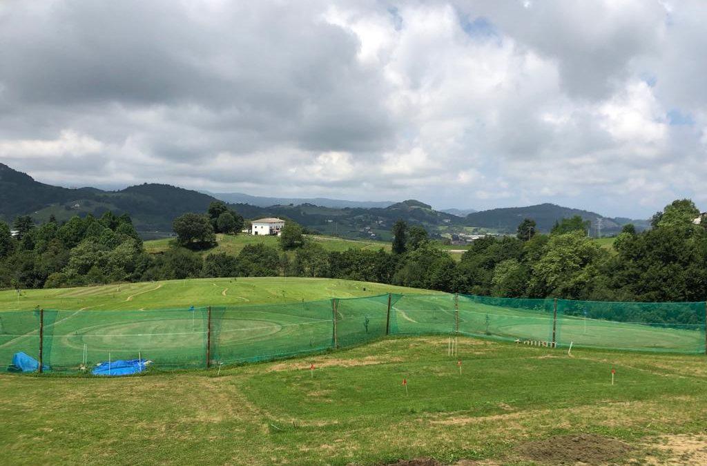 Nuevo campo de Pitch & Putt en Urnieta (Gipuzkoa)