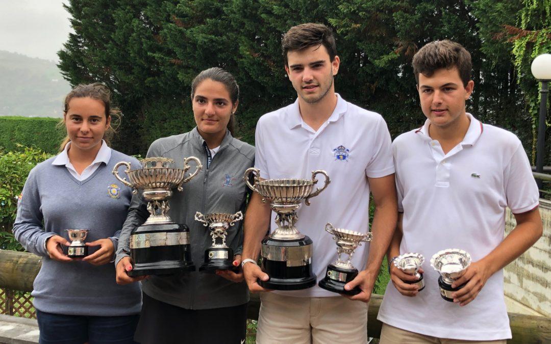 Javier Neira y Carolina Lopez-Chacarra campeones de la XXXIII Copa Federación Vasca