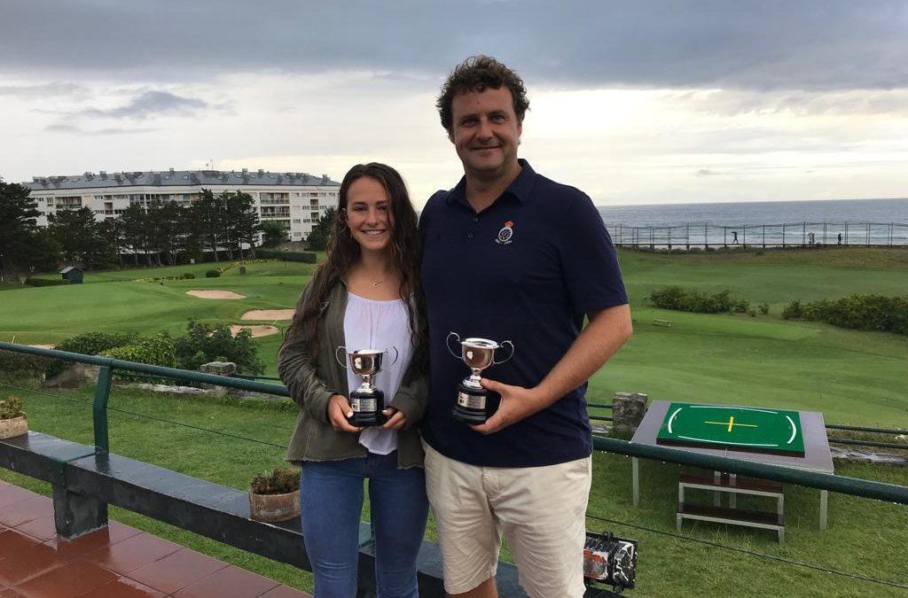 Ana Beñaran y Ion Ander Corral, Campeones de Zarauz 2019