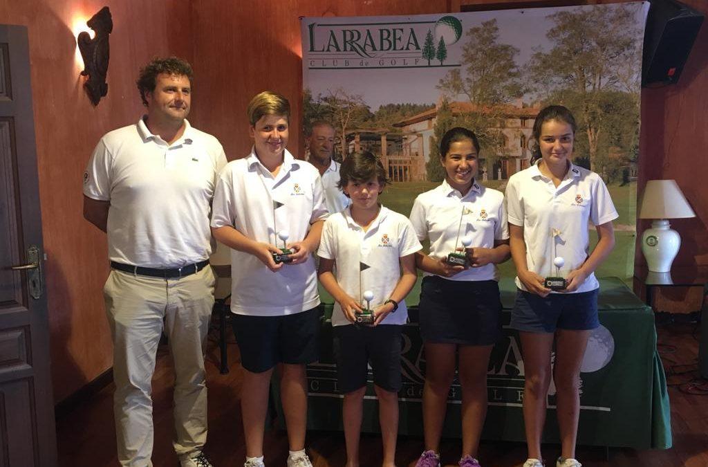 El equipo de Jaizkibel Campeón del País Vasco Interclubs Infantil