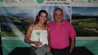 Irantzu Marquinez y Yeray de Diego ganadores de la Final Autonómica FVG Circuito Nacional 5ª categoría
