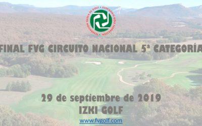 Jugadores Clasificados – Final Autonomica FVG Circuito 5ª