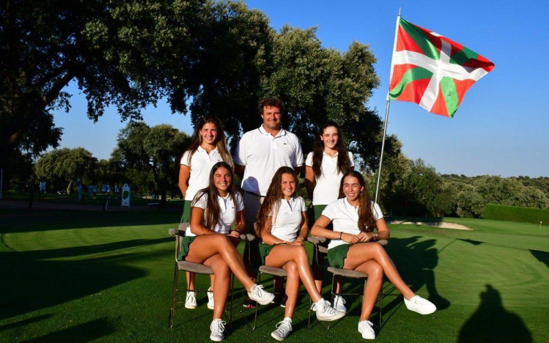 El equipo vasco presente en el Campeonato de España de Federaciones Autonómicas Sub-18 Femenino