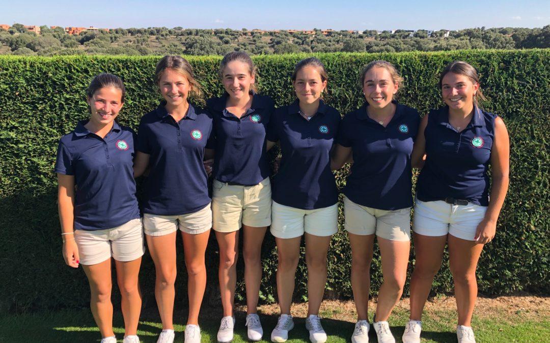 Cuarto puesto del combinado vasco en el Campeonato de España de Federaciones Autonómicas Sub-18 Femenino