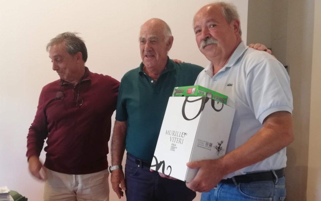 Arriaga, Marquinez, Ubiria y Vallejo  los mejores en el Puntuable Senior de Larrabea