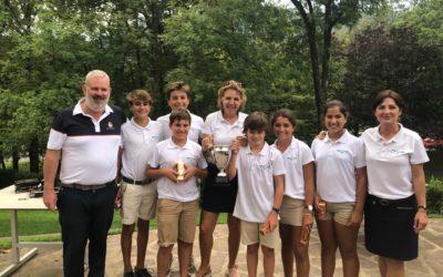 El equipo de Gipuzkoa ganador del torneo Transfronterizo 2019