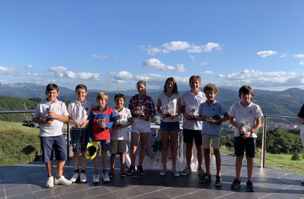Fernandez/Lanchares (Infantil), Elosegui/Jauregui (Alevín) y Dearden/D'Onofrio (Benjamines) ganadores del Campeonato de Bizkaia Infantil