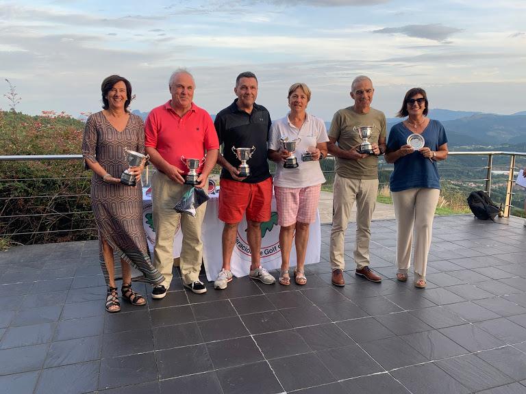 Arrate Garate y Oscar Urruticoechea los mejores en el Campeonato de Bizkaia Senior