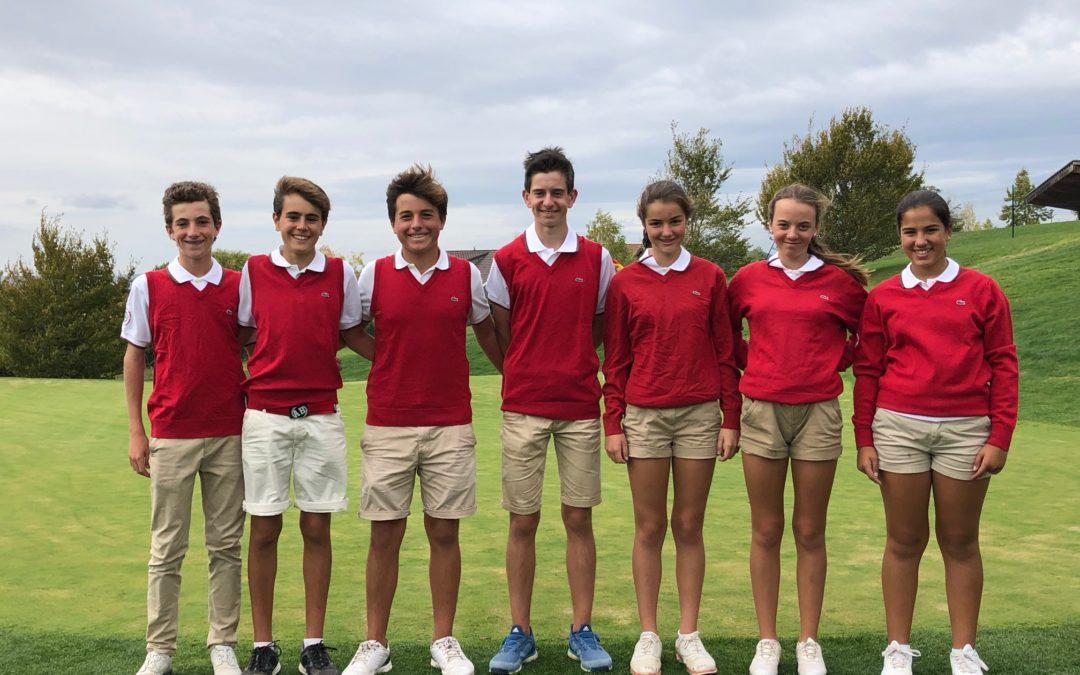 Cuarto puesto del equipo vasco en el Campeonato de España de Federaciones Autonomicas Infantil