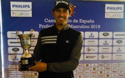 Juan Sarasti el mejor jugador vasco en el Campeonato de España de Profesionales 2019