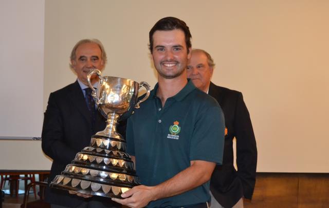 Enrique Marin ganador de la Copa Puerta Hierro 2019