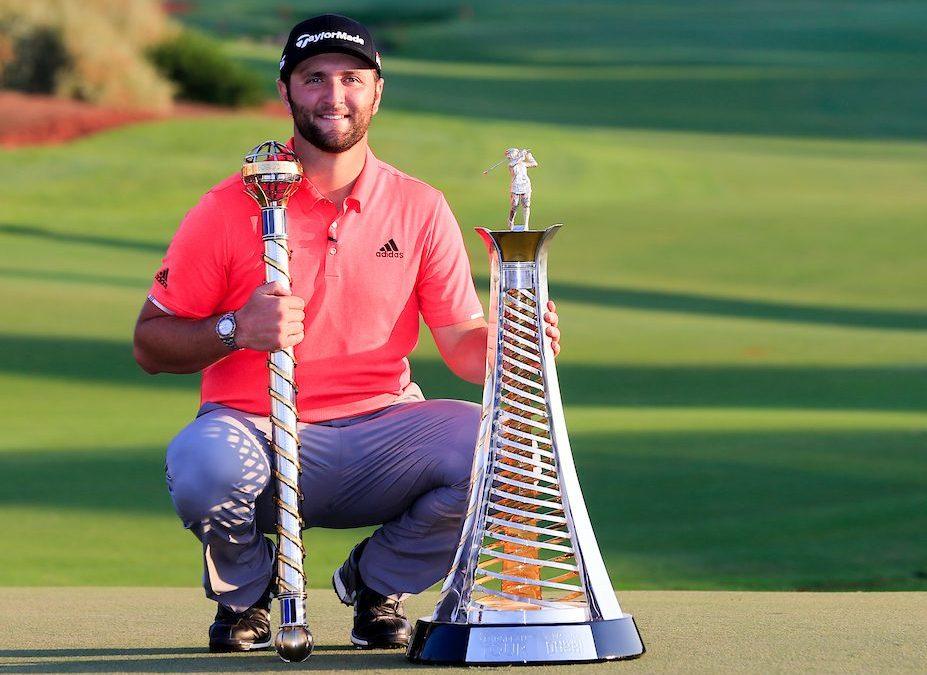Jon Rahm ganador del DP World Championship y ganador de la Race to Dubai 2019