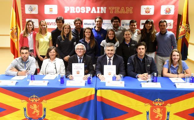Javier Sainz Convocado para el grupo de trabajo del Pro Spain Team