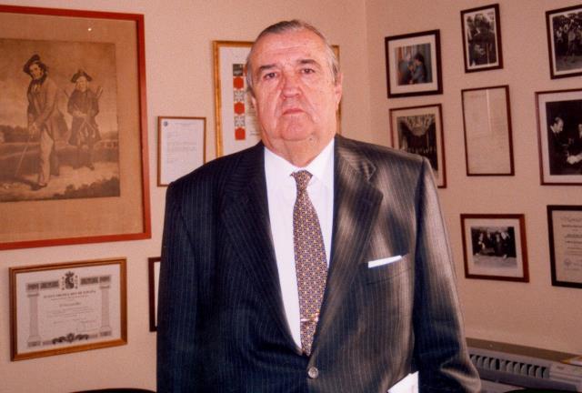 Fallece Luis Álvarez de Bohorques, figura clave en el desarrollo y profesionalización del golf en España