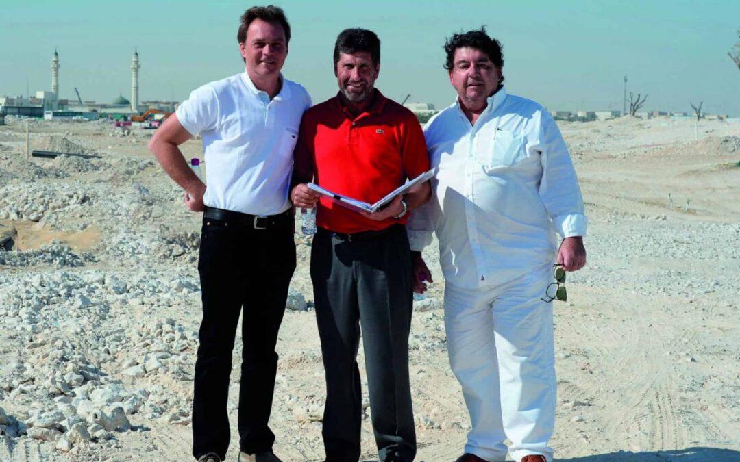Fallece Sergio Gómez, el Leonardo da Vinci del golf español
