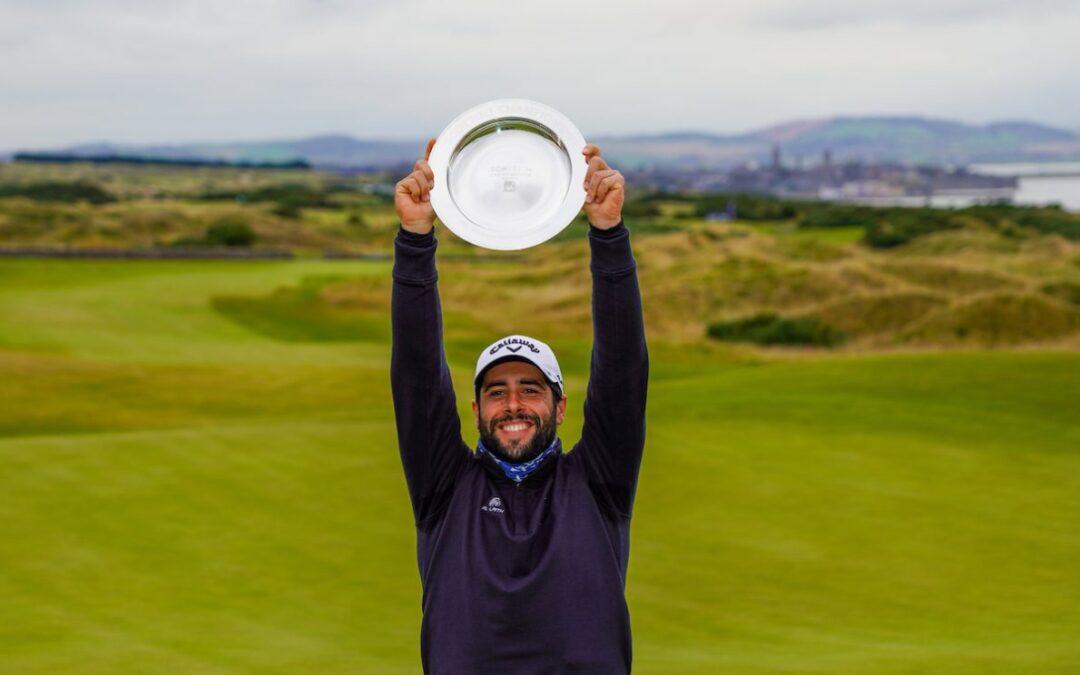 Un ciclón llamado Adrián arrasa en el Scottish Championship