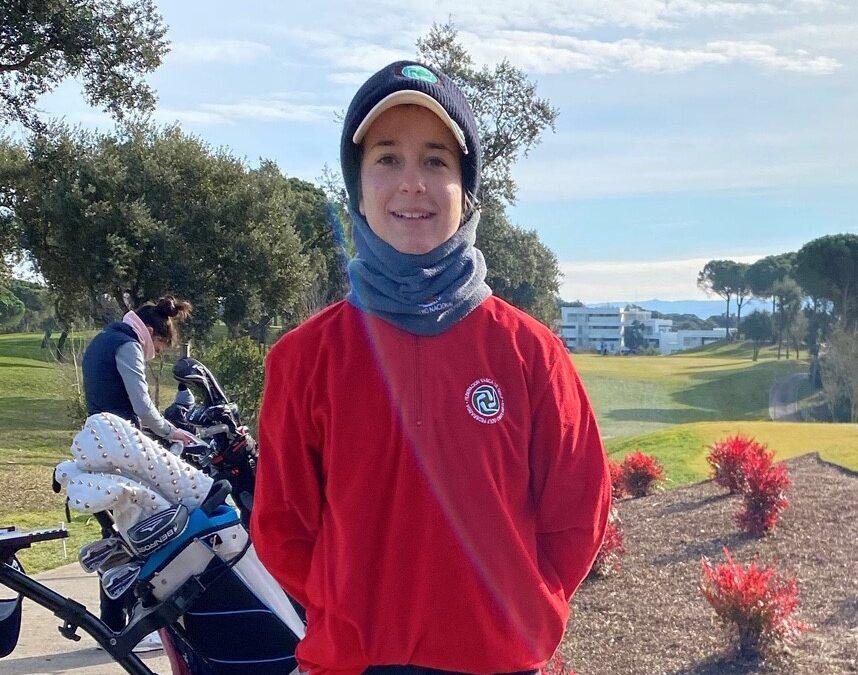 Carla Vidal arranca el año con un puesto entre las diez primeras en la Golf Hub International Cup