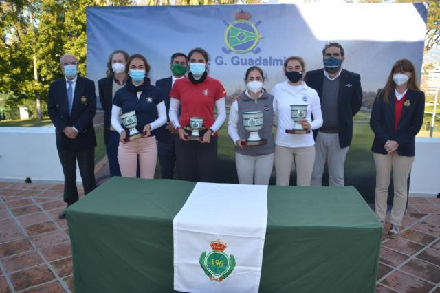 Top-10 de Paula Balanzategui en la Copa Andalucía Femenina