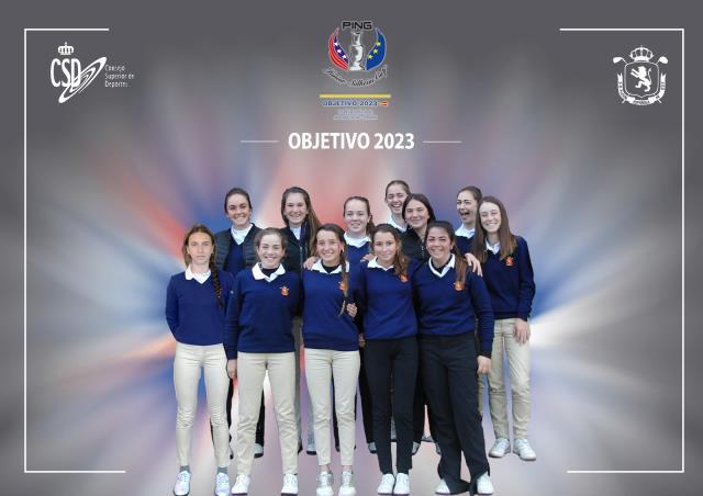 Objetivo 2023- un programa creado para las juniors con miras a la Solheim Cup