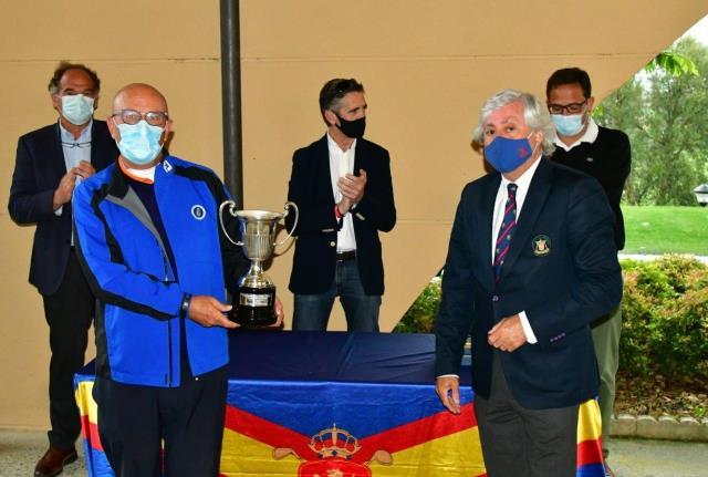 Joseba Etxagibel el mejor vasco en el Campeonato de España de Golf Adaptado