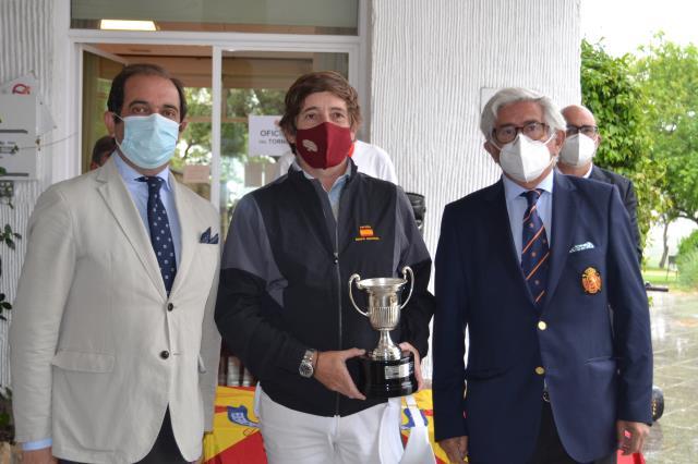 Jacobo Cestino campeón de España Individual Senior Masculino